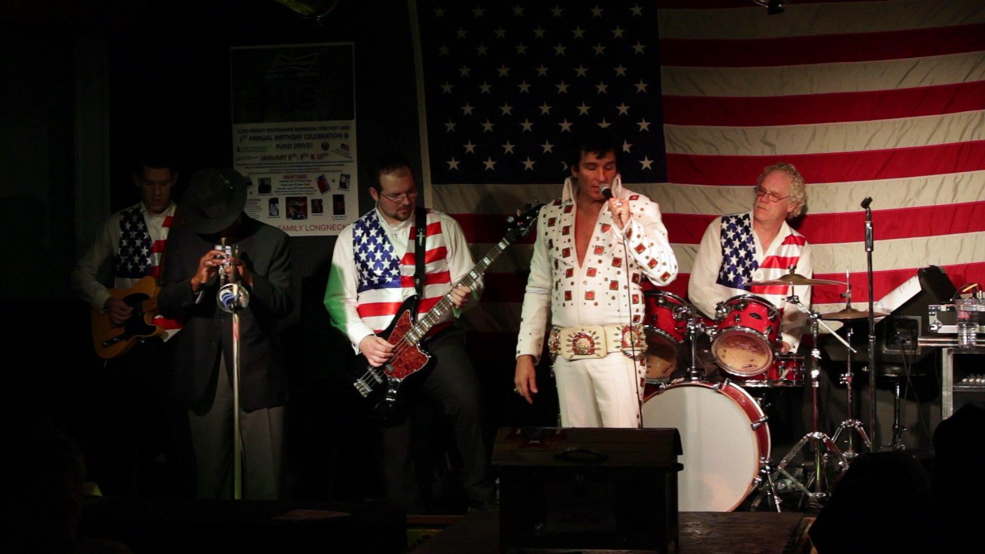 Todd Herendeen and Ben Cauley perform 'My Way' Elvis Presley Memorial VFW 2015