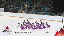 2016 SC SYNCHRO NATIONALS - NOVICE FREE PROGRAM 2 - GROUP 2