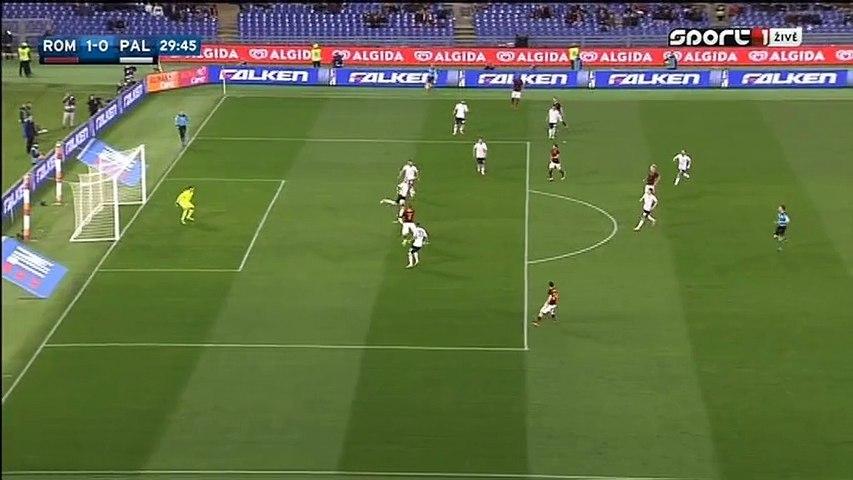 1-0 Edin Džeko Goal Italy  Serie A - 21.02.2016_ AS Roma 1-0 US Palermo