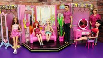 Barbie FASHION SHOW Disney Princess Dolls, Frozen Elsa Anna and Spiderman Parody, Barbie Goes CRAZY!