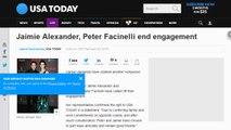 [Newsa] Jaimie Alexander, Peter Facinelli end engagement