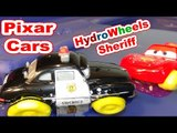 Disney Pixar Cars Unboxing Hydro Wheels Sheriff with Hydro Wheels Lightning McQueen l