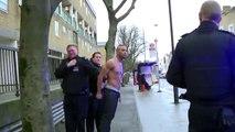 Ils se Pisse dessus pendant son Arrestation par la police WTF