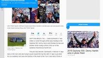 [Newsa] Favorite Dale Earnhardt Jr. crashes out at Daytona 500