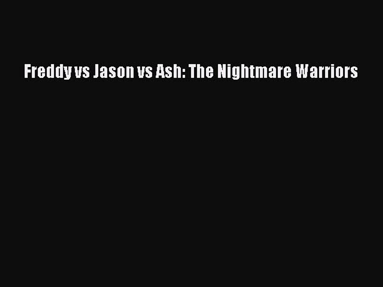 Freddy Vs Jason Vs Ash Pdf