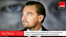 Leonardo Di Caprio s'est confié au micro d'Eva Bettan