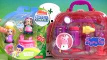 Play Doh Bubble Guppies Molly & Nurse Peppa Pig Medical Case at the Mermaids Check-Up Center