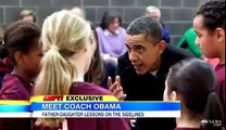 Barack Obama Coaches Sasha's Basketball Team, Discusses Her 'Stubborn' Attempts to Shoot Three's (FULL HD)
