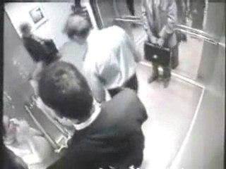 Agression dans 1 ascenseur