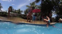 Blue Snake Water Slide at Aldeia das Águas Park Resort