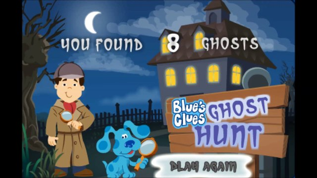 Blues Clues Halloween Ghost Hunt - Blues Clues Full Game Walkthrough