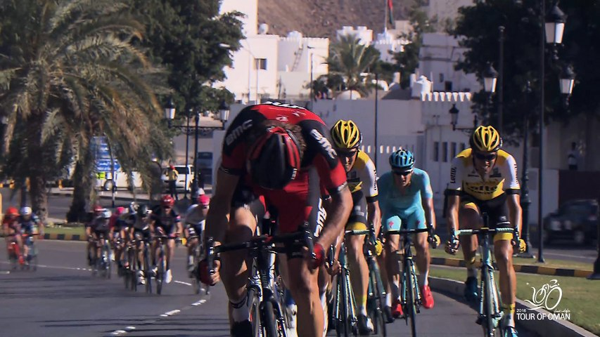 Last 2km - Stage 6 - 2016 Tour of Oman