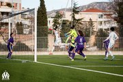 D2 féminine - OM 2-0 Grenoble Claix : le but de Caroline Pizzala (85e)