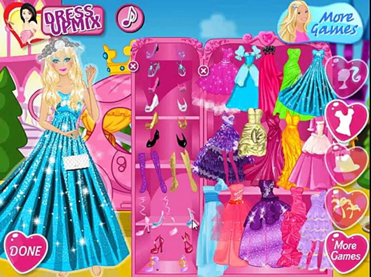Мультфильм: Принцесса Барби спешит на бал / Princess Barbie goes to the ball