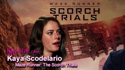 Dylan OBrien & Kaya Scodelario Talk Romance In The Scorch Trials