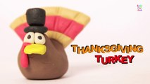 Play Doh Thanksgiving Turkey | Thanksgiving Turkey | Happy Thanksgiving