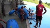 Big Blue Water Slide at Aldeia das Águas Park Resort