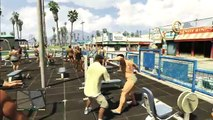 GTA 5 - Angry Bodybuilders - Gyaku Ryona Male on male (gay oriented)