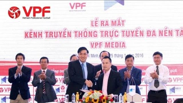 VPF ra mắt kênh truyền thông riêng trước mùa giải 2016