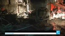 Guerre en SYRIE - Nouveau bilan de 120 morts dans l'attentat près de Damas revendiqué par l'EI