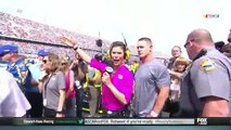 NASCAR Reporter Literally Can't see John Cena Before Daytona 500 ► U Can't See Me ◄Unbliveble