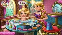 Rapunzel Baby Wash - Rapunzel cuida a su bebé - Juegos de cuidar bebés - Baby Games