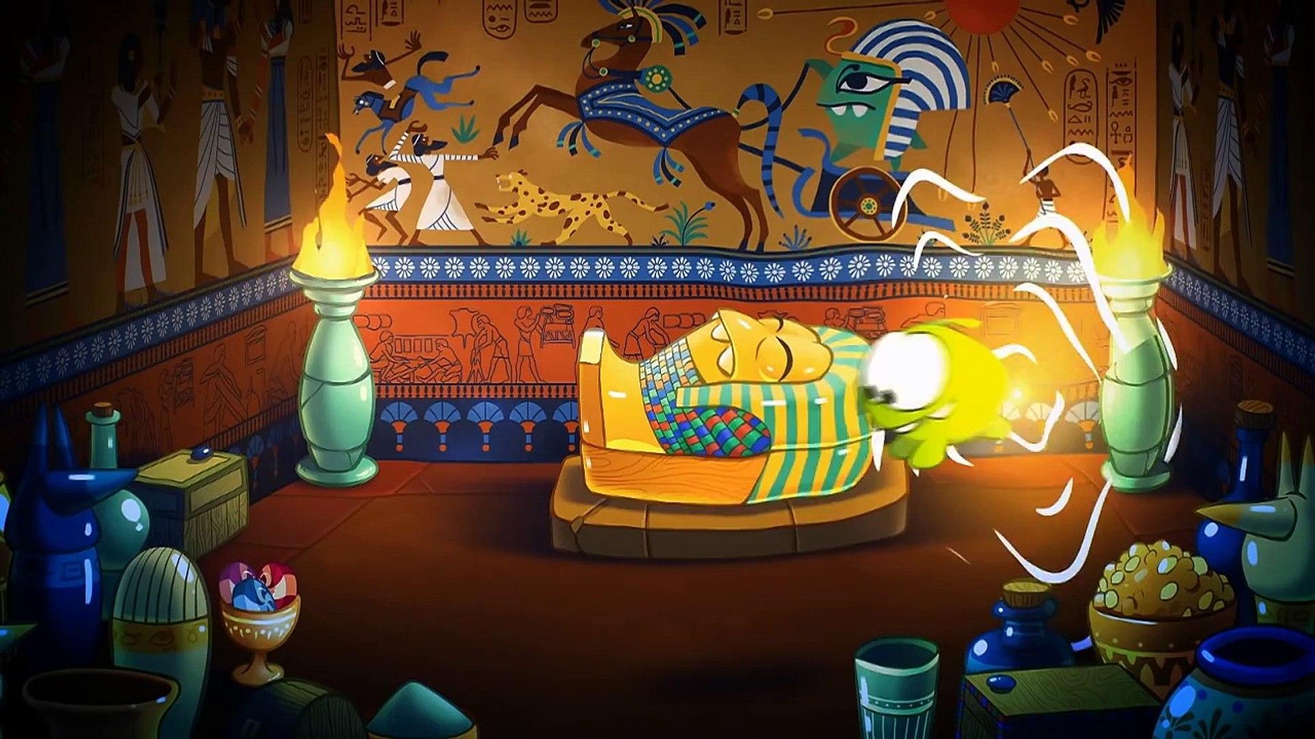 Приключения Ам Няма - Древний Египет (Cut the Rope)