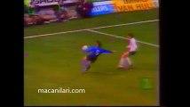 01.04.1992 - 1991-1992 UEFA Cup Winners' Cup Semi Final 1st Leg Club Brugge 1-0 SV Werder Bremen