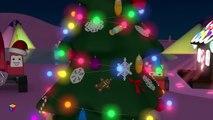Dessins animés de Noël pour les enfants. Le train Tchou-Tchou fête la nouvelle année.
