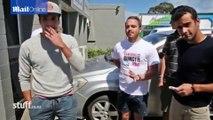 Une amende pour avoir uriné depuis un voiture en marche
