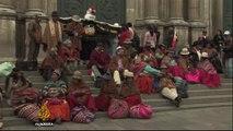 Bolivia referendum: Exit polls show 'No' vote winning