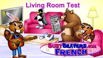 Living Room Test (French Lesson 24) CLIP - Teach American Children French, Français Américain