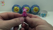 Peppa pig Chupa Chups bolas sorpresa juguetes peppa pig Chupa Chups boules surprises jouets ❤️