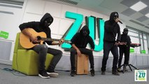 Carlas Dreams - Sub Pielea Mea (Live la Radio ZU)