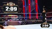 Roman Reigns vs. Sheamus CNZ World Heavyweight Championship Match: Raw, November 30, 2015