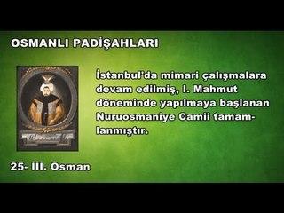 25 - III. Osman