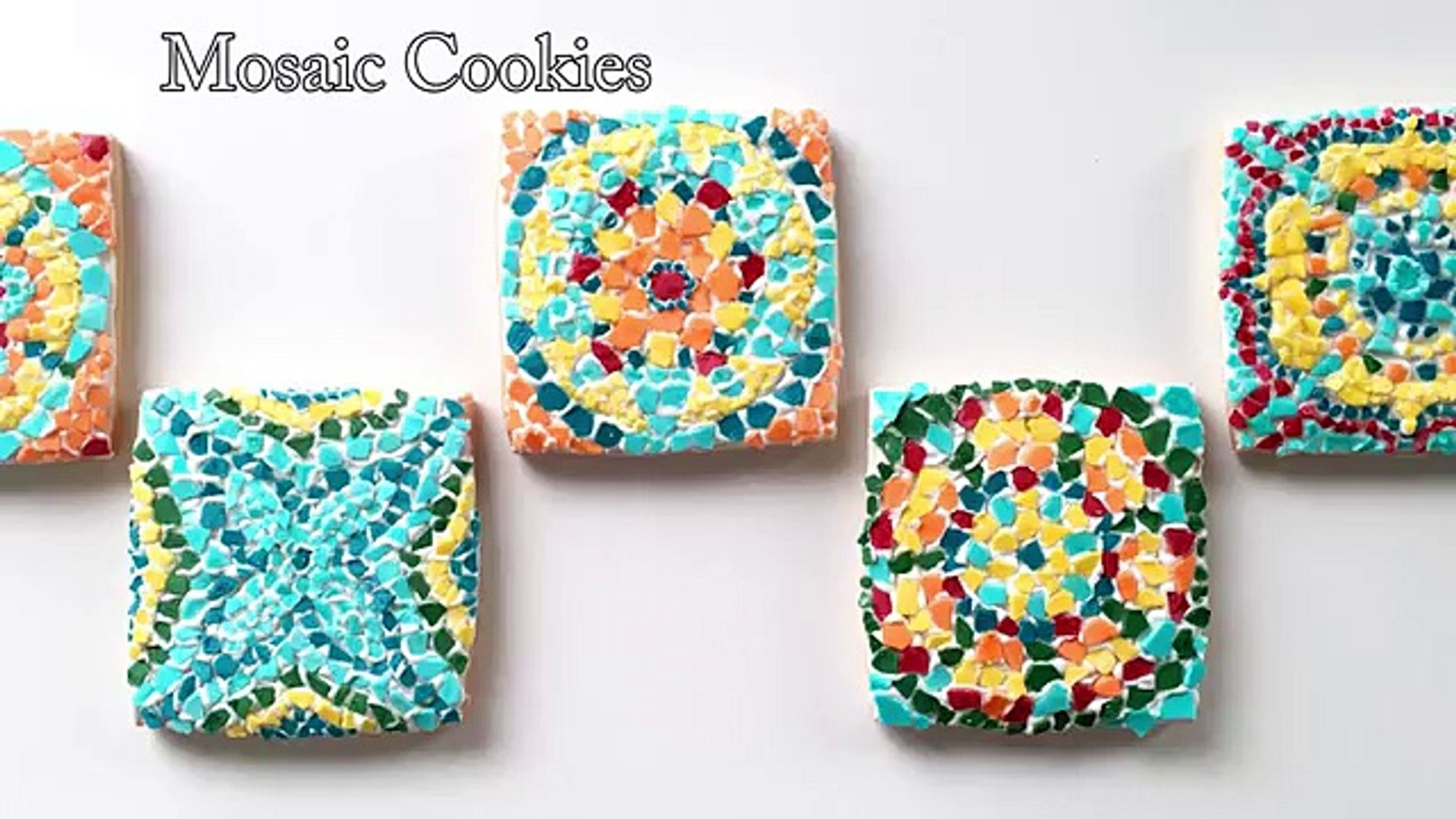 How to How can - How To Decorate Mosaic Cookies , How to , How can , WHat , where , why- How to How
