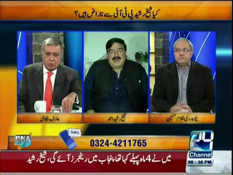 Imran Khan is the last option for Pakistan- Sheikh Rasheed praising