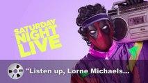 Deadpool explicó la razón por la cual no será anfitrión de Saturday Night Live