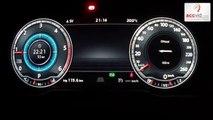 New VW Passat B8 2015 2,0 BiTDI - acceleration 0-210 km/h, digital dashboard