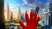 Godzilla Vs King Kong Finger Family Nursery Rhymes | Godzilla | King Kong Cartoons For Children
