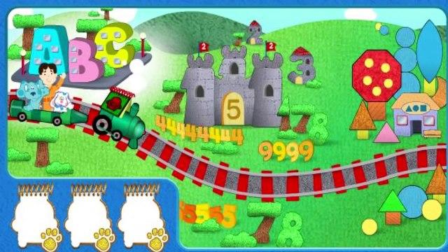 Blues Golden Clues - Blues Clues Cartoon Game For Kids