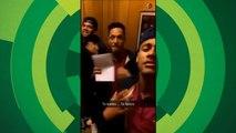 Neymar, Dani Alves e Adriano dançam 'Tá tranquilo, tá favorável'