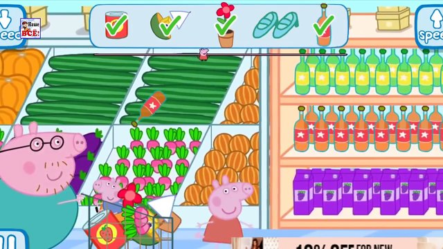 Lets Go Shopping with Peppa Pig! App for Kids - From Baby Teacher