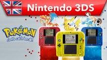 Pokémon Red Version, Blue Version & Yellow Version - Trailer (Nintendo 3DS)