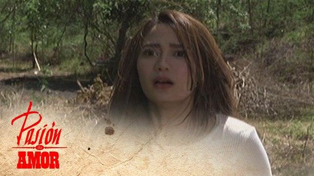 Pasion de Amor: Norma tries to escape
