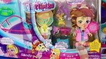 Flipsies Doll Dollhouse & Ocean Cruiser Boat with Pet Vet Eva & Rockstar Jazz Dolls Makeover