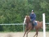 Moi et mon cheval au galop