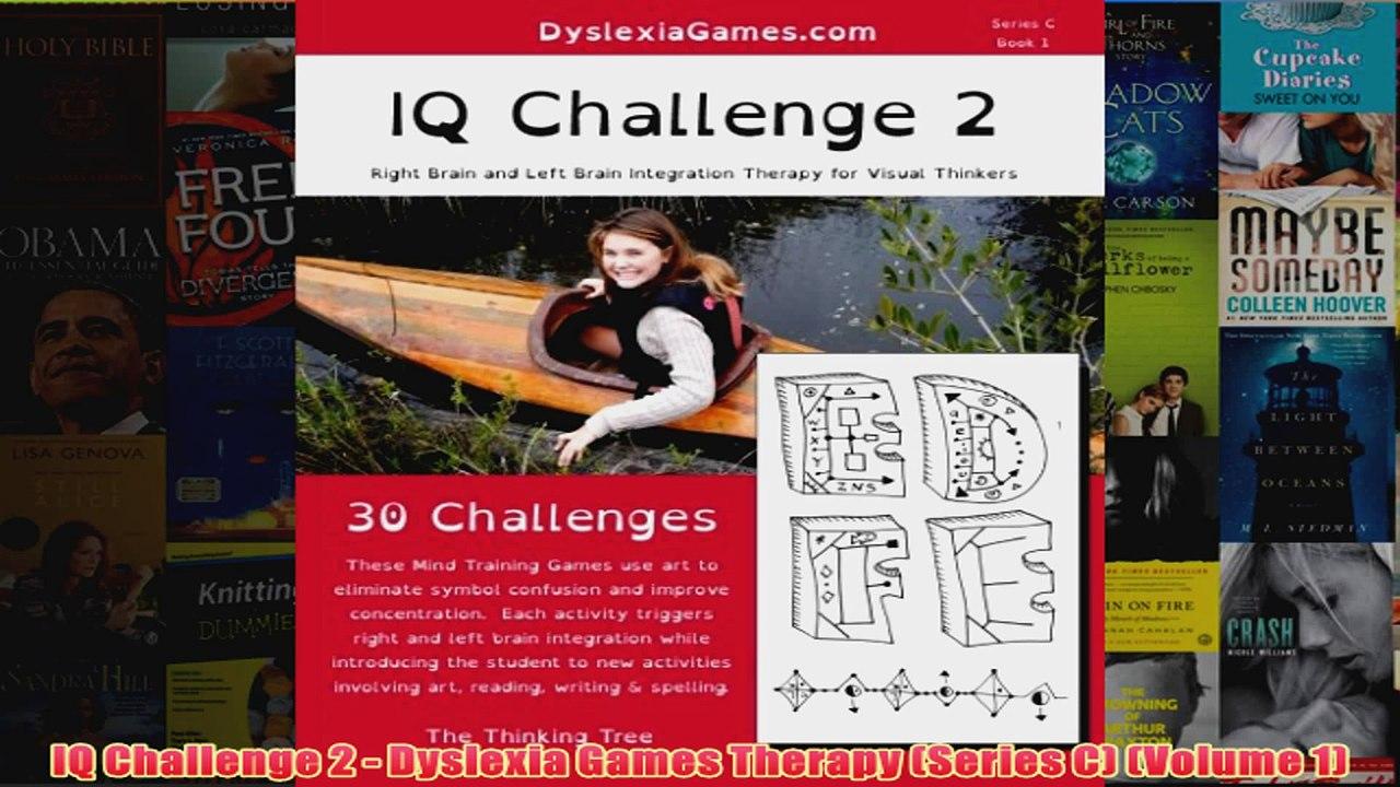 IQ Challenge Series B Book 2 Dyslexia Games