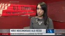 ¿Niños que cruzaron solos la frontera en riesgo? | Noticiero | Noticias Telemundo